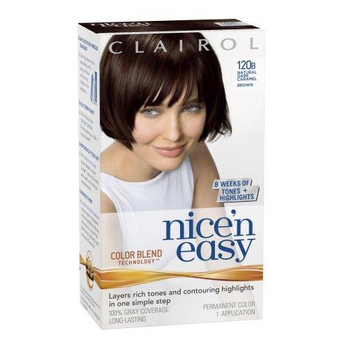 Clairol Nice N Easy Hair Color 120b Natural Dark Caramel