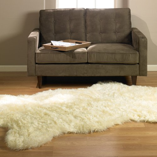 faux sheepskin rug costco fur ikea safavieh 3x5 amazon classic ivory pelt shape new made actual kitchen dining