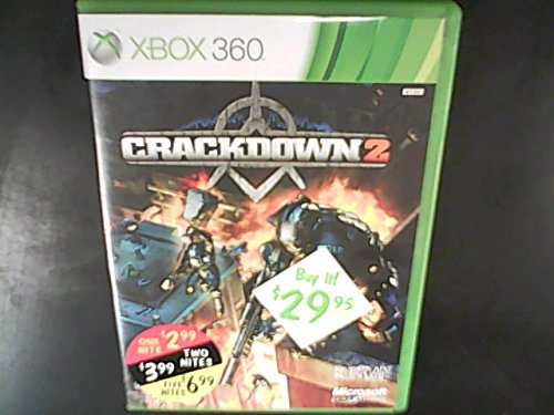 Crackdown 2 Xbox 360 Game Microsoft