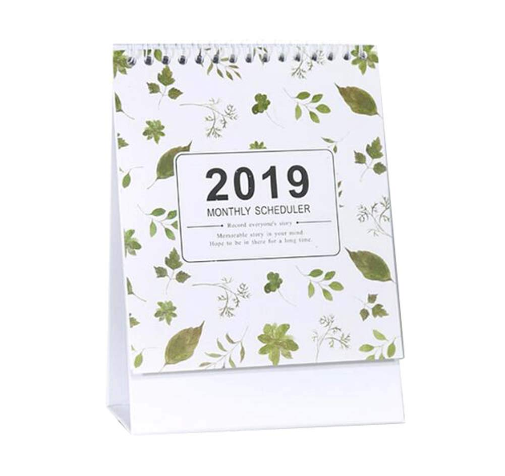 Monthly/Daily Schedule Notebook,2018-2019 Office/Home/School Calendar,C04