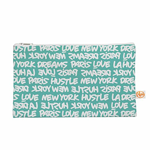 Kess eigene 12,5x 21,6cm nur L Lux Schreiben WHT Blaugrün Alles Tasche–Weiß