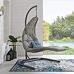 Harrier Hanging Egg Chair Sun Lounger Free-standing