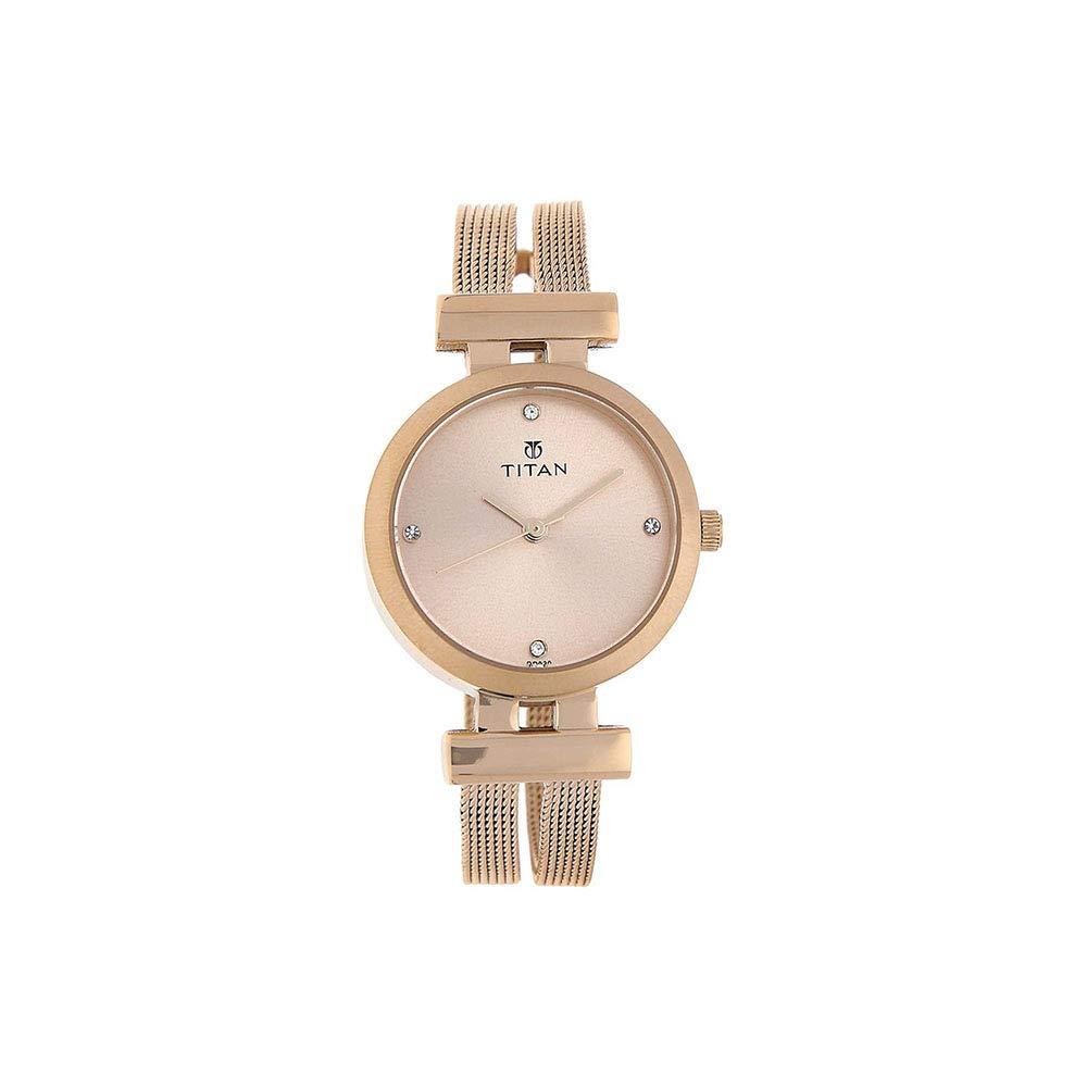 Titan Purple - Glam Gold Analog Pearl dial Women's Watch -NK9942WM01 (B00NPRQ7R0) Amazon Price History, Amazon Price Tracker