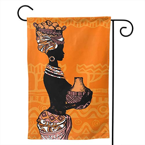 Pinata Sexy Woman Funny Decorative Outdoor Double Sided Garden Flag, House Yard Flag,Garden Yard Decorations,Seasonal Welcome Outdoor Flags ()