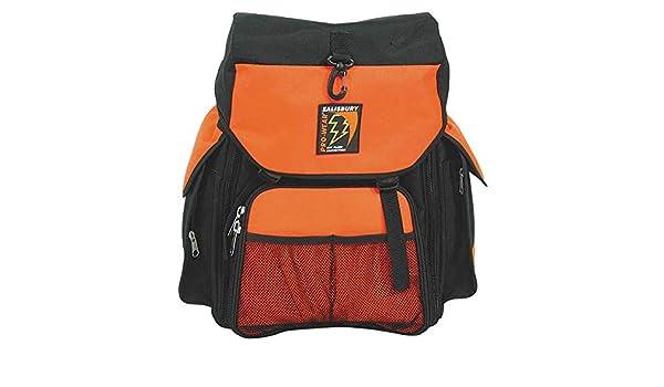 "Orange SKBACKPACK SALISBURY Tool Backpack,8/""x14/""x18/"",Orange"