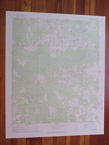 Pearl River Mississippi 1973 Original Vintage USGS Topo Map