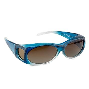 Figuretta Gafas de sol en azul, artículo anunciado en TV
