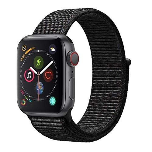 Apple Watch Series 4 Cellular, 40 mm, Alumínio Cinza Espacial, Pulseira Esportiva...