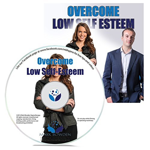Overcome Low Self Esteem Self Hypnosis CD - Hypnotherapy CD to Increase Confidence And Feel Better About Yourself Self Esteem Boosters