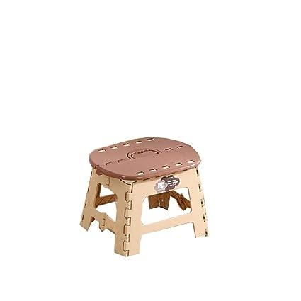 De plástico plegable taburete engrosamiento silla de banco ...