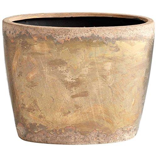 Cyan Design Small Rosen Planter, Bronze - 05418 ;(supply#: shop_freely it#43371069664115