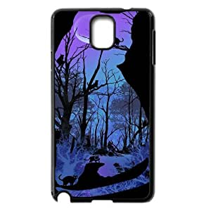 Samsung Galaxy Note 3 N9000 2D Custom Phone Back Case with Cat Image