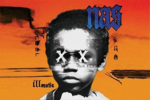 Nas - Illmatic Album 24x36 Poster