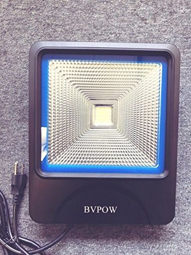 Led Flood Light,BVPOW 50W High Power Outdoor Security LED Flood Light,Waterproof 7000K Daylight led Floodlight,120 Degre wide beam angle Brightest Led lighting