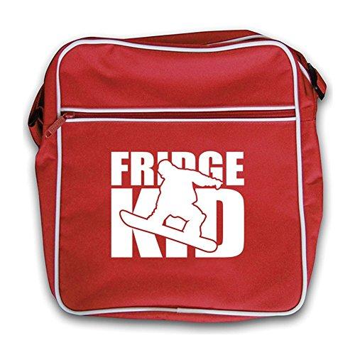 Red Fridge Kids Snowboard Retro Fridge Kids Red Flight Bag x8RxHTqZ