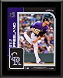 "Kyle Freeland Colorado Rockies 10.5"" x 13"" Sublimated Player Plaque - MLB Player Plaques and Collages"