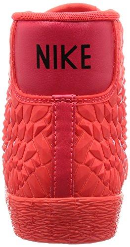 Nike W Blazer Mid Dmb, Chaussures de Sport Femme, Rouge Naranja (Brght Crmsn / Brght Crmsn-Brght)