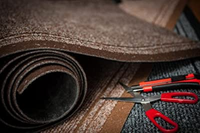 """Extra Long Non Skid Red Hallway Entance Runner Mats - Sold And Priced By The Foot - 2ft 2"""" Wide"""