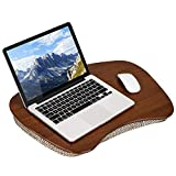LapGear Bamboo Lap Desk - Chestnut Bamboo - Fits up