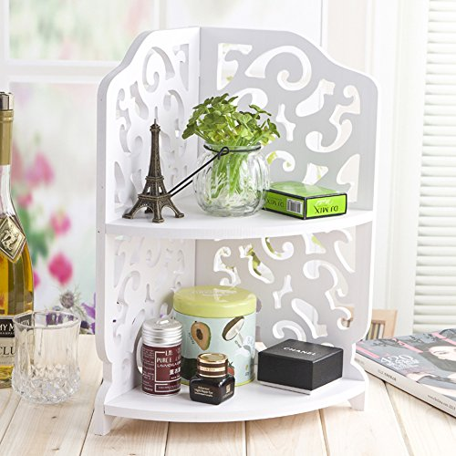 Creative Wood Corner Shelf Kitchen Shelves Simple Small Bookcase Part 80
