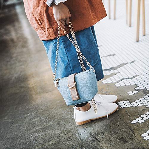 Borsetta Tote Bambini Borsa E Bambina Ragazze Principessa Da Spalla Casuale Donna Messenger Borse Trasporto Blu A Elegante Liqiqi AXZP4