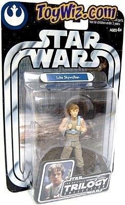 Star Wars Original Trilogy Collection 2004 Luke Skywalker Action Figure [Dagobah, Upright]