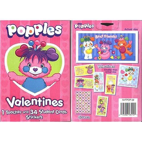 Popples Valentines Cards Sales