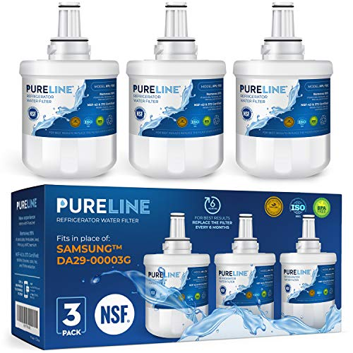 Samsung DA29-00003G Water Filter Replacement. COMPATIBLE SAMSUNG MODELS: DA20-00003G, Aqua Pure Plus, HAFCU1/XAA, DA61-00159A-B. High-End Generic Filter with Advanced Carbon Block. -PURELINE (3 pack)