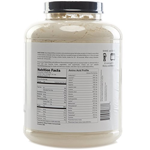Undenatured whey protein powder