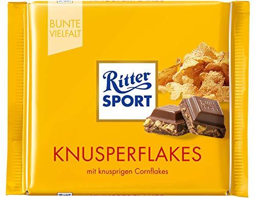 Ritter Sport Cornflakes Chocolate Bar Candy Original German Chocolate 100g/3.52oz