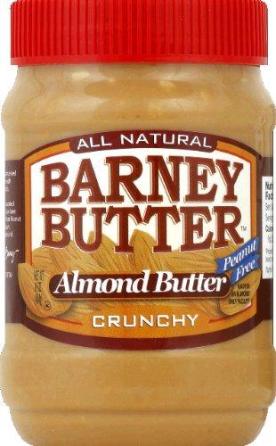 Barney Butter Crunchy Almond Butter, 16 Ounce - 6 per case. by Barney Butter