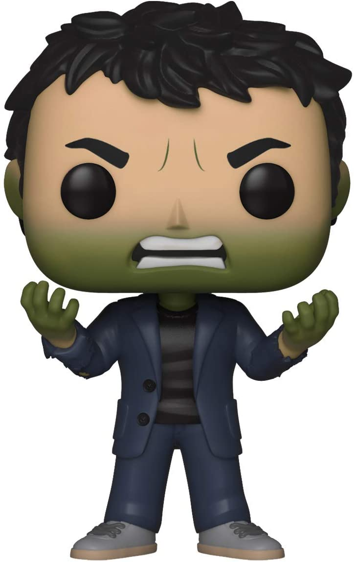Multi Funko POP Bobble Marvel Infinity War S2 Bruce Banner w//Hulk Head