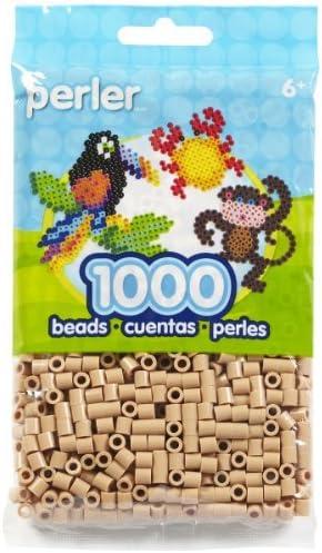Perler Beads Pack 1000-Piece, Tan by Perler