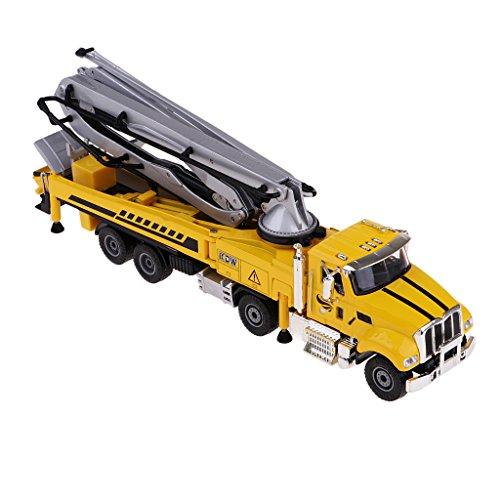 Perfk 1/55スケール 合金製 ダイキャストカー アメリカ エンジニアリング トラックモデル 玩具の商品画像