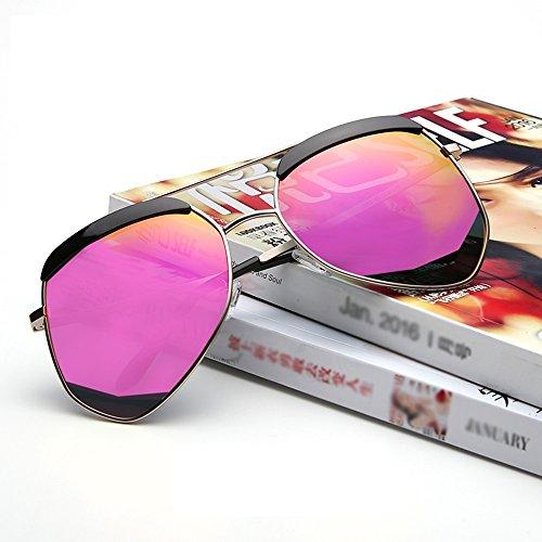irregular pareja de de Gafas moda personalidad la alta luz de sol Gafas protección la la de de de sol de 04 lib aire sol ZHIRONG la la Gafas al viaje polarizada de sol de de de de gafas la las definición R0gqCd