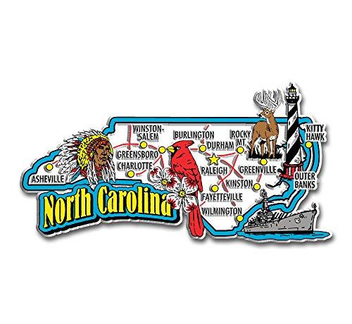 North Carolina State Jumbo Map ()