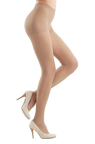 54b28d72f47 Conte Women s Conrol Top Nude Sheer Pantyhose - Solo at Amazon ...