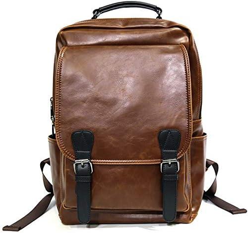 Lydianzishangwu Mens Handbag Retro Cross-Body Shoulder Messenger Bag Color : Coffee, Size : S