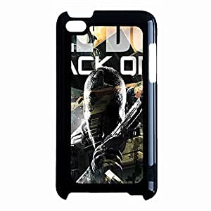 Bloodcurdling Black Ops Phone Case Cover For Ipod Touch 4th Generation