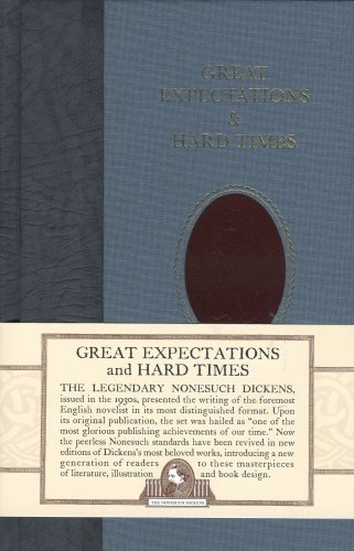 Great Expectations and Hard Times (Nonesuch Dickens) (Dickens Best Of Times)