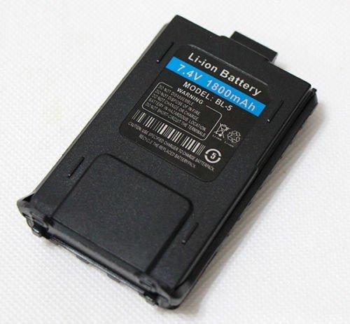 1800mAh Battery for Baofeng UV-5R 2-Way Radio (Pack of 2) SUNCHI BF-UV-5R