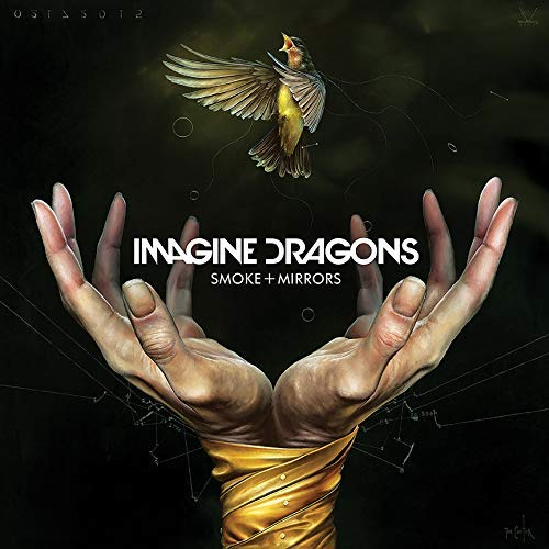 chronical collection Album Cover Poster Thick Imagine Dragons: Smoke & Mirrors Music 2018 giclee Record LP Reprint #'d/100!! 12x12