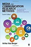 Media and Communication Research Methods 4th Edition