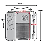 USA Gear Mini Projector Case Compatible with Anker