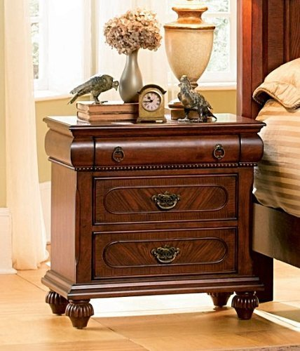 Isabella Bedroom Collection Solid Hardwood Night Stand