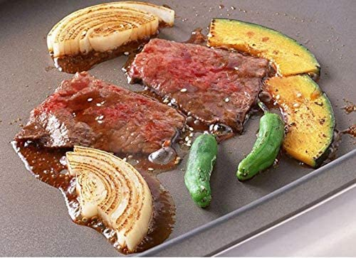 Gaodpz Rôti coréenne en Acier Inoxydable Grill Pan Smokeless antiadhésif Plate Barbecue Réchaud Ménage Bricolage Barbecue Plateau BBQ Accessoires