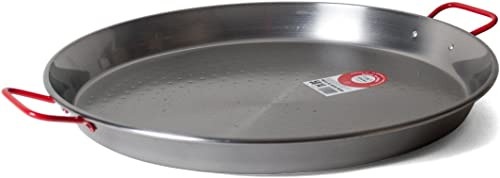Garcima 20-Inch Carbon Steel Paella Pan