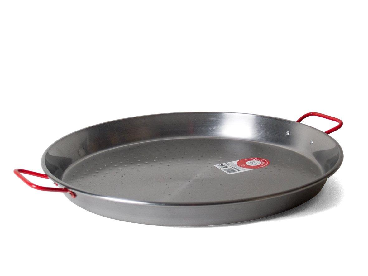 Garcima 20-Inch Carbon Steel Paella Pan, 50cm