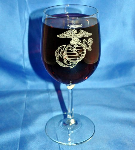 custom-etched-usmc-emblem-on-13-oz-white-wine-glass-set-of-2