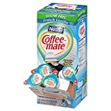 Coffee-mate 91757 Sugar-Free French Vanilla Creamer, 0.375oz, 50/Box